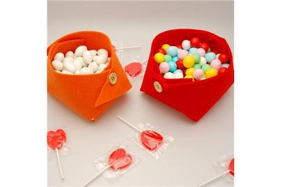 decorar la mesa con chucherias y caramelos
