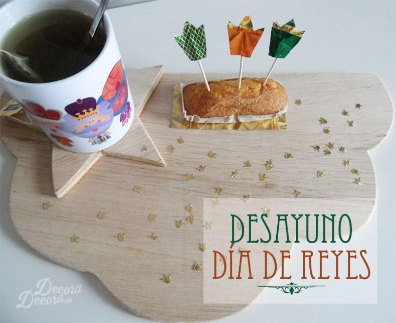 Desayuno para el Día de Reyes