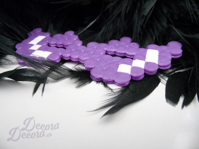 Antifaz de Hama Beads para decorar Carnaval