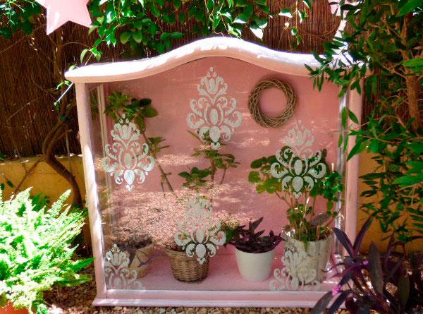 Cristalera de jardín