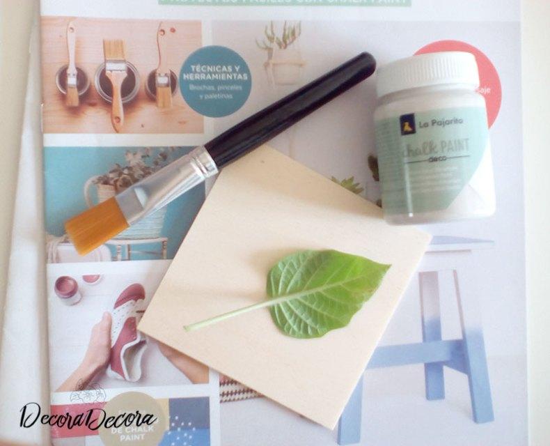 Cómo hacer un imán con chalk paint