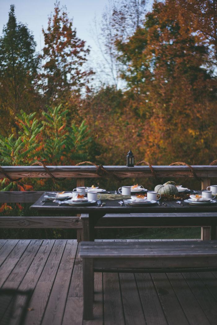 Mesa otoño