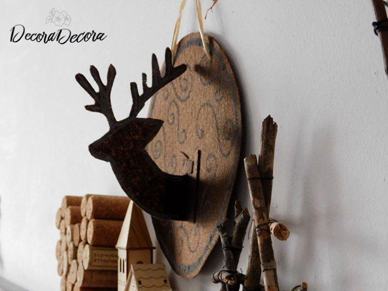 Hacer un reno para decorar