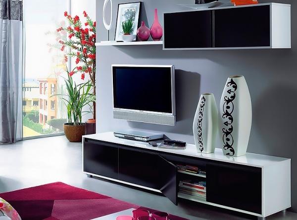 Muebles modernos de salón