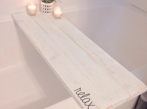 Bandeja para el baño