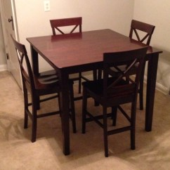 Pub Style Table And Chair Set Folding With Canopy Chairs Bing Images