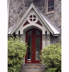 colores exteriores casas fachadas gris grises puerta paredes principal decoraideas rojo