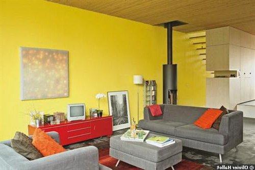 Colores llamativos en decoracin de interiores  ecoraIdeas