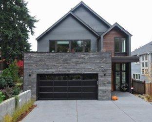 colores gris piedra exteriores exterior fachadas casas fachada casa madera grises pared modernas decoraideas pinturas ladrillo tonos oscuro combinar como