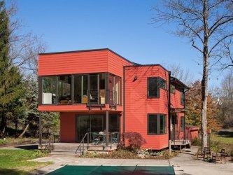 casas colores exterior fachadas exteriores casa naranja colors elegante rusticas negro fuera pintar oscuro combinaciones facades maderas dacasa 2021 grises