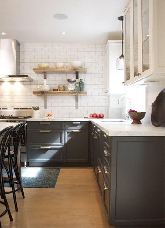 Colores para la cocina 2018 Tendencias y Fotos  ecoraIdeas