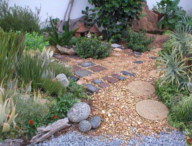 jardin de piedras 30 imagenes e ideas
