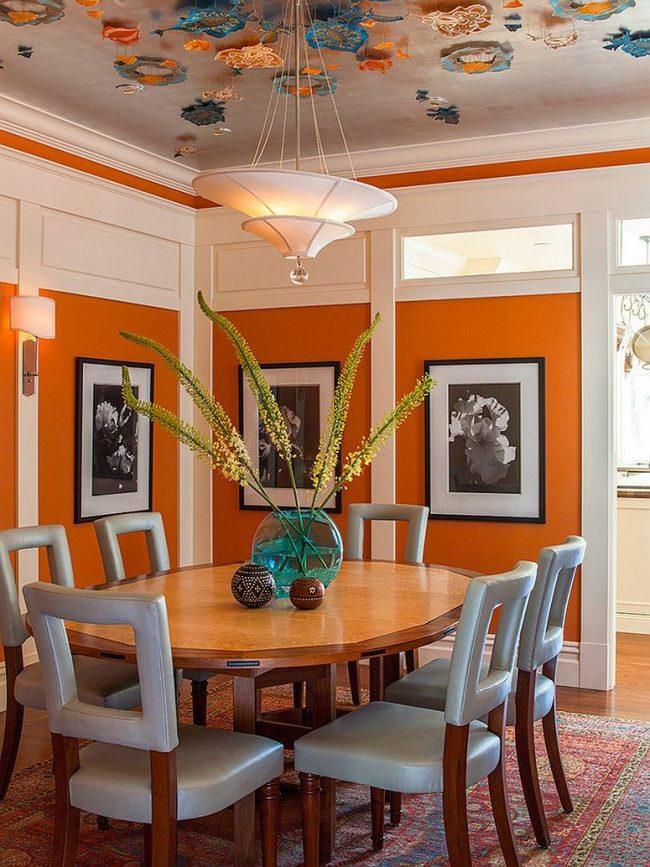 Comedor Color Naranja