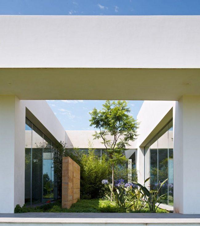 Jardines interiores modernos 25 fotos y consejos de diseo