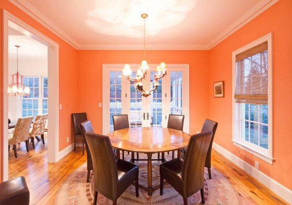Color naranja en decoracin moderna  ecoraIdeas