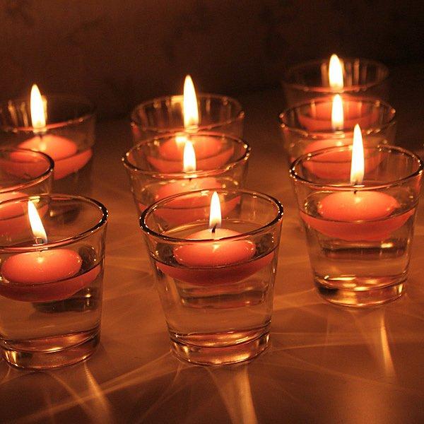 Adornos con velas decorativas  ecoraIdeas
