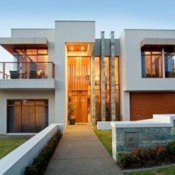 Fachadas de casas modernas 2021 2020 + de 70 fotos
