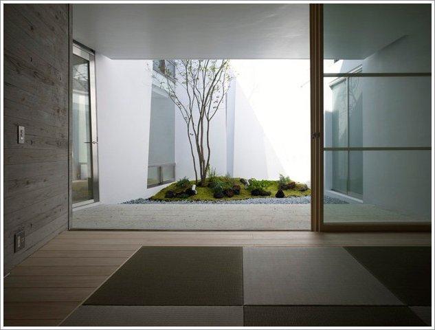 Jardines interiores modernos 25 fotos y consejos de diseo  ecoraIdeas