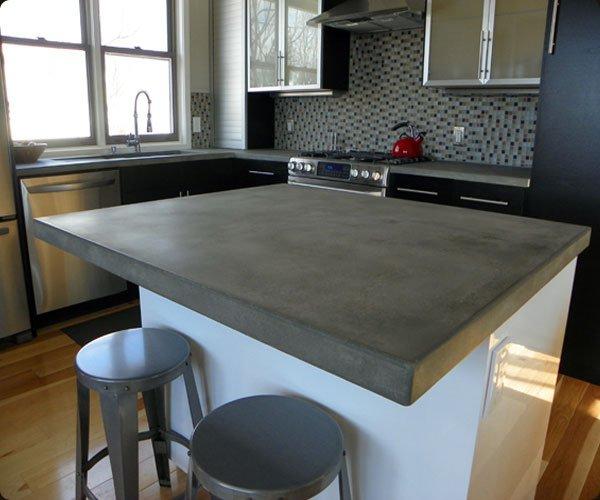 Cocinas de cemento 20 ideas y fotos  ecoraIdeas