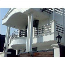 rejas casas gris colores exteriores dos decoraideas