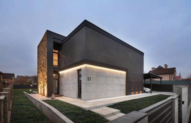 Fachadas De Casa En Concreto