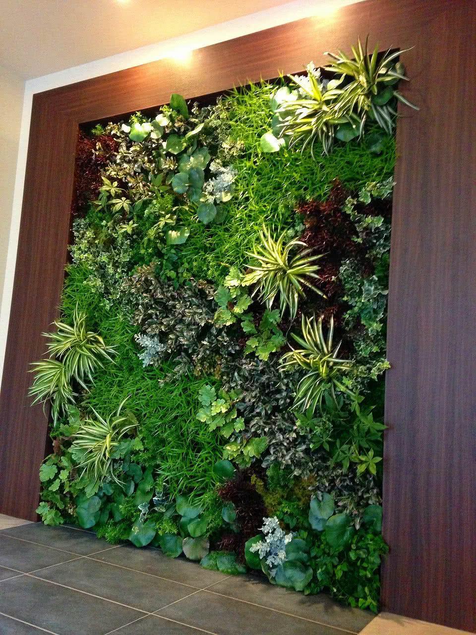 Jardines Verticales  de 40 Fotos de Inspiracin Verde