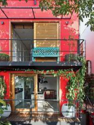 colores exteriores casas resaltar fachadas formas profundidad dandole ayuda interes paredes geometricas arquitectura esto parte