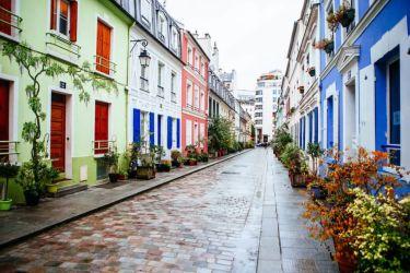 colores casas exteriores fachadas contraste 2021