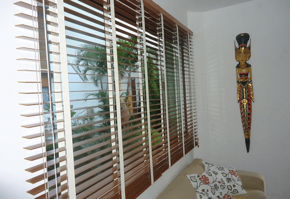 Persiana Horizontal de Madeira - Decora Janela