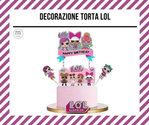 decorazione torta LOL
