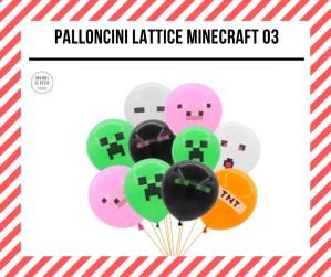 palloncini minecraft