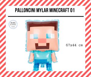 palloncino minecraft