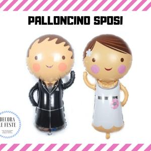palloncino sposi