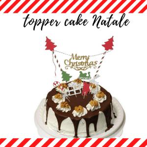 topper cake natale