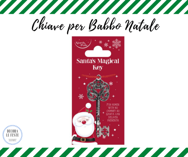 chiave speciale babbo natale