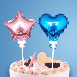 decorazione torta palloncini