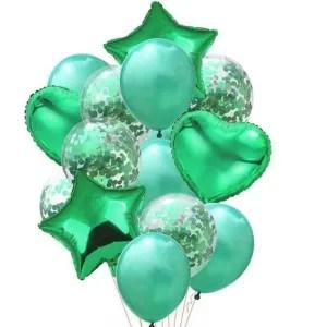 palloncino cuore verde