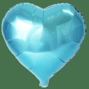 mini palloncino celeste