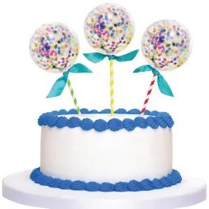 topper cake palloncino
