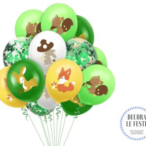 palloncini animali bosco