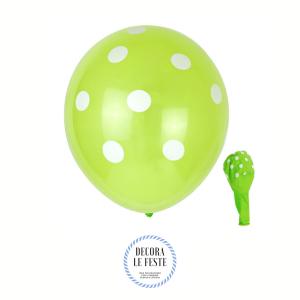palloncino pois verde