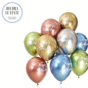 palloncini scritta buon compleanno