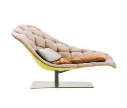 Bohemian chaise longue by Moroso