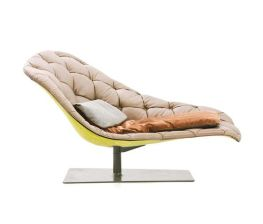 Bohemian chaise longue by Moroso