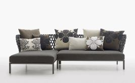 Canasta sofa for BBItalia