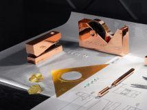 Cube Stapler and tape dispenser, Tom Dixon