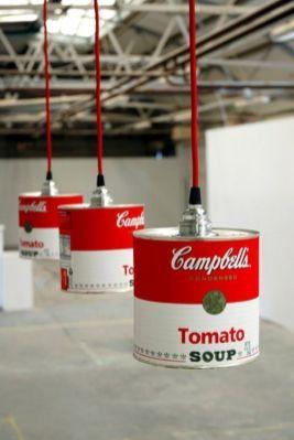 Usa las famosas latas de Campbell