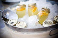 11. Lemonade packed in Mason Jars