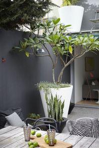 Oversize outdoor flower pot