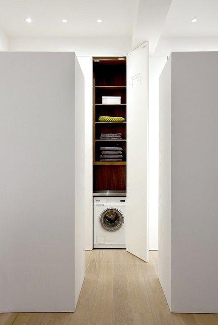 Messana O'rorke Architects   cuarto de lavado